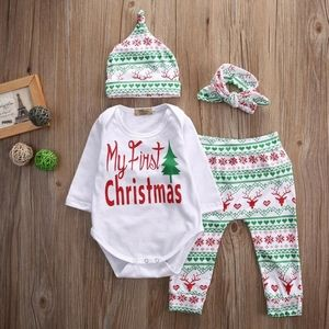 My First Christmas Baby Unisex Outfit